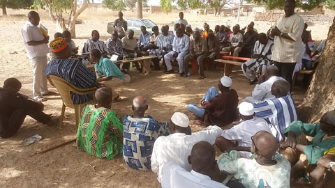 Commune de Loumbila: Le Conseil municipal parle développement avec la population