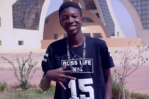 Musique: Hugo Boss, ce jeune qui révolutionne le rap burkinabè