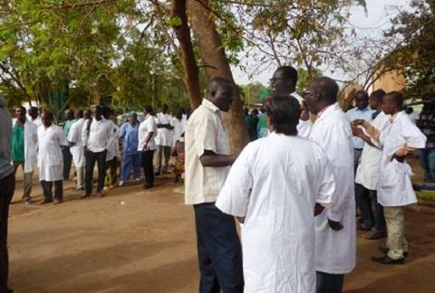 Grève des agents de santé: ''Il n'y a plus de nécessité à continuer la lutte''