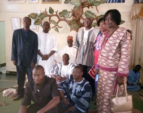 Les parents d'élèves étaient chez le Mogho-Naaba