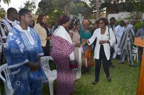 Diasporas: Vœux de nouvel an à l'Ambassade du Burkina au Sénégal