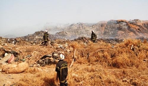 Centre de traitement des déchets de Ouagadougou: Les hypothèses de l'incendie, selon le directeur de la propreté