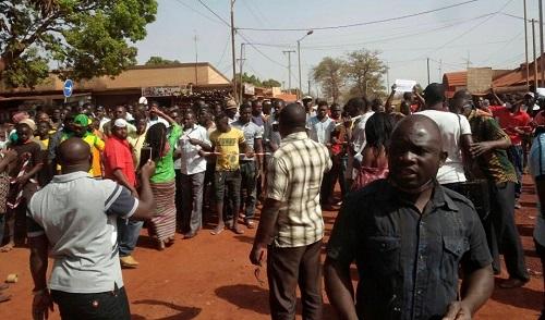 Mouvement d'humeur des commerçants de Bobo Dioulasso: Contre l'abandon du bitumage de l'avenue Daniel Ouézzin Coulibaly