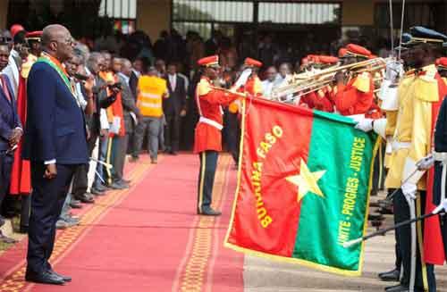 Le Président du Faso à Banjul pour la célébration de la fête nationale de la Gambie