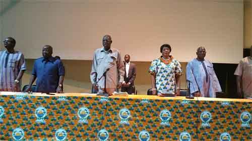 Mouvement du Peuple pour le Progrès (MPP): 129 militants sanctionnés