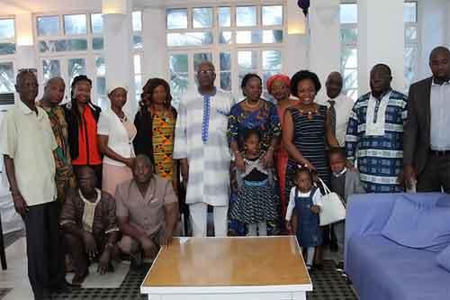Le Président du Faso échange avec les Burkinabè vivant en Gambie