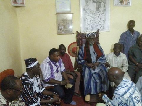 Les membres de la CODER ont rendu visite aux autorités religieuses et coutumières de Bobo-Dioulasso