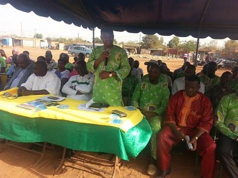 An I de la VIIe législature: Les députés UPC du Kadiogo rendent compte à leur base