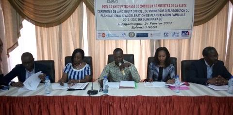 Planification familiale: Des acteurs se familiarisent avec le processus d'élaboration du Plan national d'accélération 2016-2020