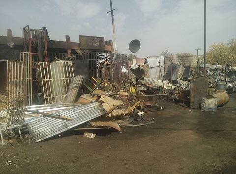 Incendie au marché de Koupéla: L'état des lieux un mois après