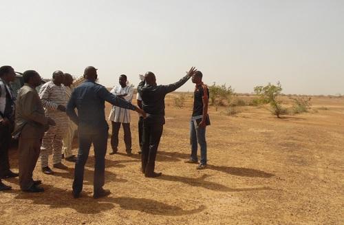 La SONABHY à Kaya: Le futur dépôt à Koéna sur la route de Dori