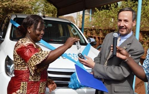 Planification familiale: Un véhicule pour atteindre les populations des zones reculées