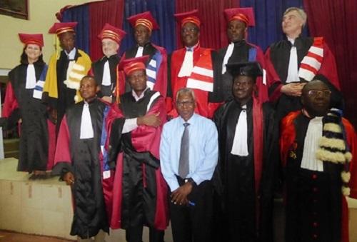 Soutenance de Thèse de doctorat: Mention très honorable pour Lassané Tapsoba