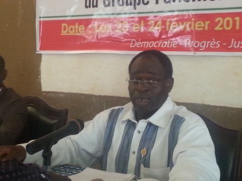 Alfred Sanou, président du groupe parlementaire CDP: «Œuvrer à la réconciliation nationale n'est pas un aveu de faiblesse, ni de culpabilité»