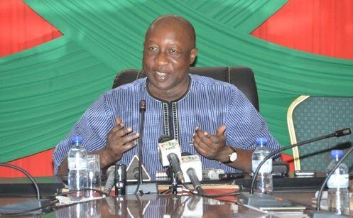 «Certains des excès de la lutte syndicale peuvent hypothéquer les chances de développement de notre pays», dixit Paul Kaba Thiéba