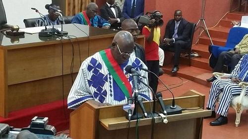 Grèves à répétition:  Le président de l'Assemblée nationale dénonce des manœuvres d'officines politiques pour déstabiliser le pouvoir