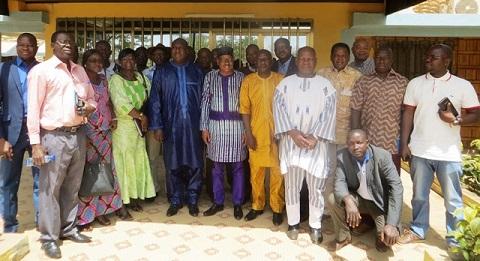 Une délégation de la CENI a rencontré l'Opposition politique