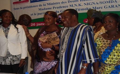 La jeunesse africaine rend hommage au général Tiemoko Marc Garango