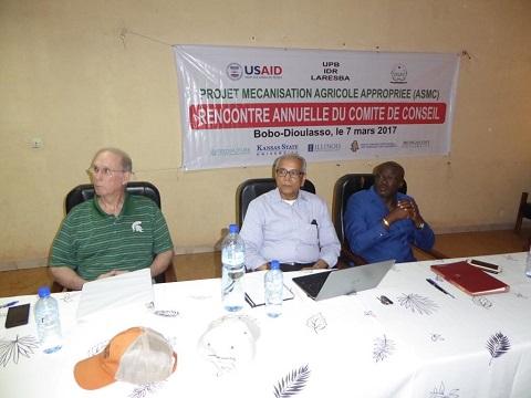 Mécanisation agricole: Les acteurs du Projet ASMC  ont tracé les grands axes
