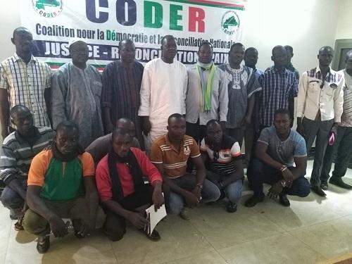 Situation nationale: Les policiers radiés consultent la CODER