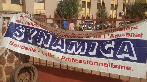 Ministère du Commerce: Le syndicat met à exécution sa menace de grève de 120 heures