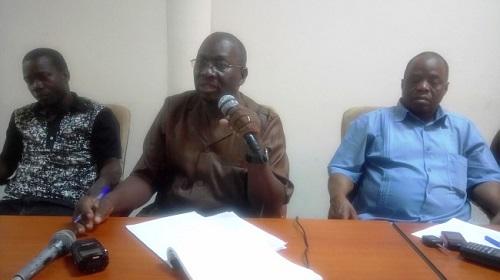 «Nous avons signé un protocole d'accord, pas une trêve», prévient le secrétaire général du SYNTSHA, Pissyamba Ouédraogo