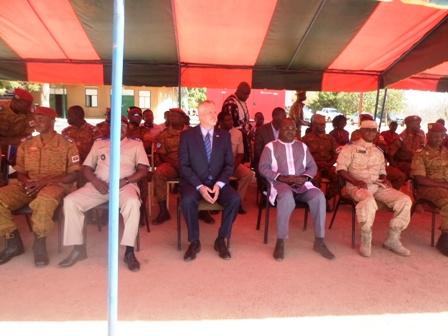 Lutte contre le terrorisme: 50 commandos Burkinabè «rodés» par  Alpha Team 3116