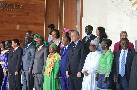 Commission des Affaires politiques de l'Union Africaine: Aisha Larabah Abdulahi passe le témoin à Minata Samaté
