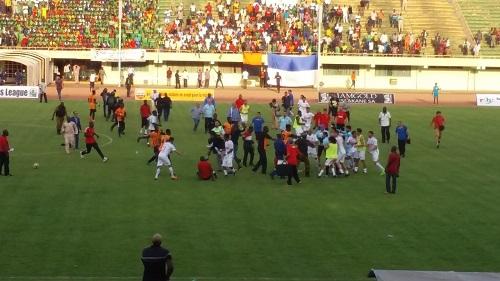 Ligue des champions africaine: Le RCK éliminé, le match finit en bagarre généralisée