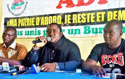 Faut-il consulter les généraux Bassolé et Diendéré? L'Alliance pour la Défense de la patrie (ADP) répond à Simon Compaoré