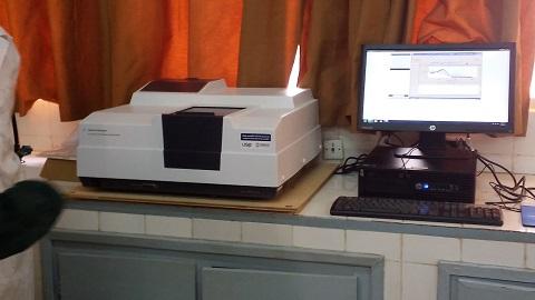 Laboratoire national de santé publique: Un appareil pour détecter les médicaments antipaludiques contrefaits