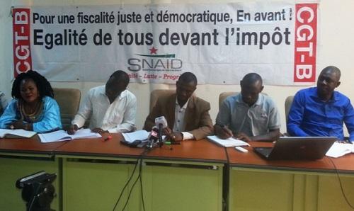 Grève des agents des impôts et des domaines: «Il y a de l'argent dans ce pays», confie le SNAID