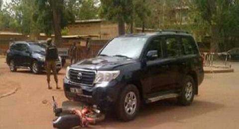Ouagadougou: Un véhicule du cortège du Premier Ministre impliqué dans un accident