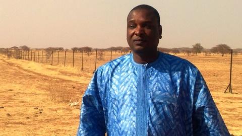 «Falagountou sera très bientôt un paradis au milieu du Sahel», promet  le maire de la commune, Saïdou Maïga