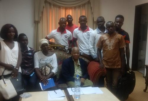Commission constitutionnelle: Le Mouvement des Etudiants du Faso (MEFA) à la rencontre de Me Halidou Ouédraogo