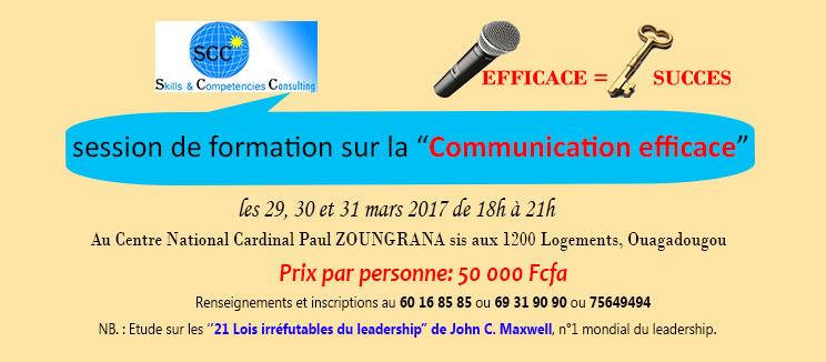 Communiquer avec aisance et se faire comprendre par son auditoire ou son interlocuteur!!!
