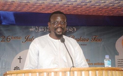 «L'islam a toujours été une religion de paix. Aucune religion ne peut être terroriste», Bénéwendé Stanislas Sankara, vice-président de l'Assemblée nationale