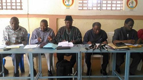 Vie politique nationale: Le CDP à l'heure de la réorganisation et de la relance de ses activités