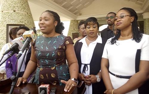 Audience à Kosyam: Des jeunes filles leaders chez le Président du Faso