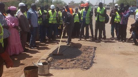 Réseau routier national: Plus de 11 milliard de FCFA pour les travaux d'entretien courant