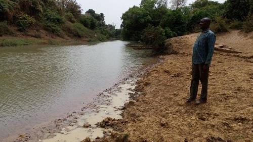 Le fleuve Mouhoun se meurt