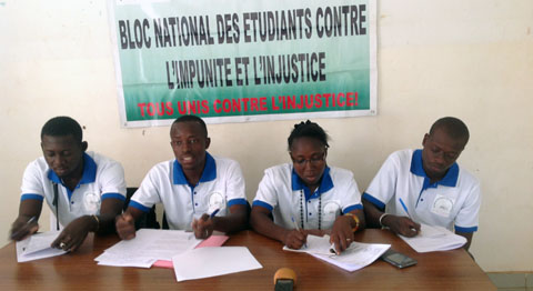 Situation nationale : Des étudiants invitent les Burkinabè à une union sacrée contre le terrorisme