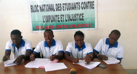 Situation nationale: Des étudiants invitent les Burkinabè à une union sacrée contre le terrorisme