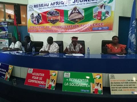 Situation nationale: Le Réseau Afrique Jeunesse pour une accélération de la réconciliation