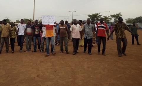 Arrondissement n°3 de Ouagadougou: Des habitants ont marché pour soutenir le maire Raïnatou Sawadogo