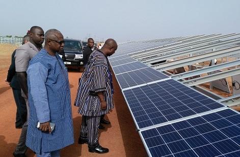 Centrale solaire de Zagtouli: «Une de mes  plus grandes satisfactions», selon Paul Kaba Thiéba