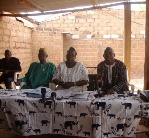 Redevabilité politique au Nord: Les élus ADF/RDA du Yatenga font le point de leurs activités aux populations