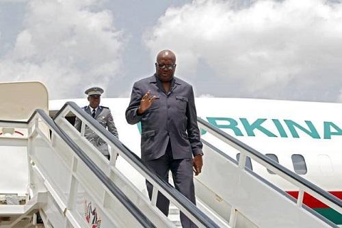 Le Président du Faso en visite officielle à Paris