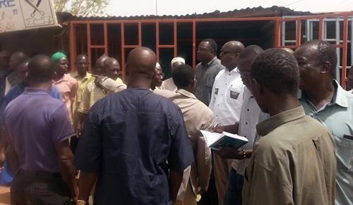 Tarifs de location des infrastructures marchandes de Ouagadougou: Zéphirin Diabré échange avec les commerçants