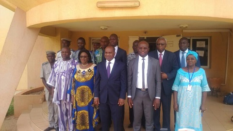 Documents sécurisés aux Burkinabè de l'extérieur: Le ministre Alpha Barry et les responsables de l'ONI accordent les violons!